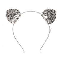 Souza Alice Band CAT EARS Silver