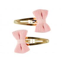 Souza 2 Hair Clips KAMILA Loop pink