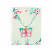 Souza Beaded Butterfly Necklace