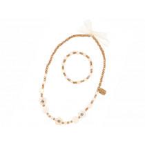 Souza Necklace & Bracelet Set ALEXA gold