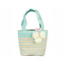 Souza Raffia Bag for Kids JANA mint