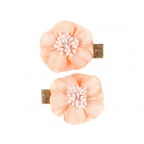 Souza Hair Clips BLOSSOM apricot