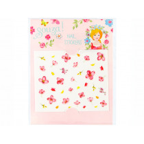 Souza Nail Stickers FLOWERS pink