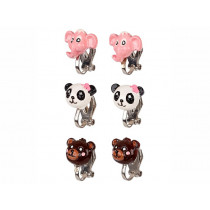 Souza Ear Clips ANIMALS