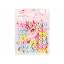 Souza Ear Stickers UNICORN Hearts