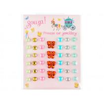 Souza Ear Stickers BUTTERFLIES & HEARTS