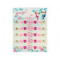 Souza Ear Stickers BUTTERFLY pink