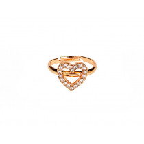 Souza Ring GLAMOUR Gold Heart