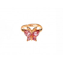 Souza Ring GLAMOUR Gold Butterfly