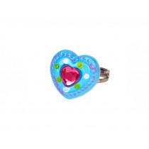 Souza Ring JOLYNE Blue Heart