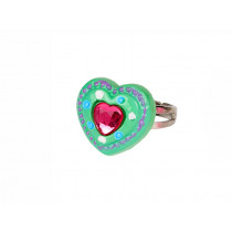 Souza Ring JOLYNE Green Heart