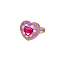 Souza Ring JOLYNE Purple Heart