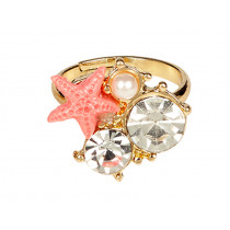 Souza Mermaid Ring SEA STAR pink
