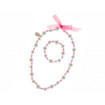 Souza Necklace & Bracelet Set RENATE pink
