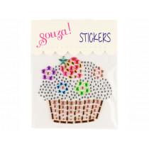 Souza Jewel Sticker CUPCAKE