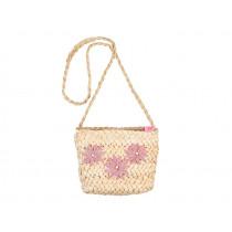 Souza Raffia Bag for Kids FAY flowers