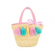Souza Raffia Bag for Kids DELPHINE small