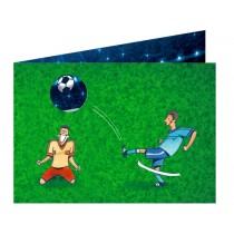 Spiegelburg invitation postcard set FOOTBALL