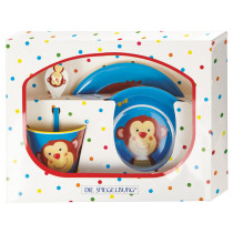 Spiegelburg Melamine Tableware Set MONKEY