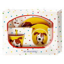 Spiegelburg Melamine Tableware Set DOG
