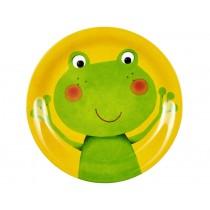 Spiegelburg melamine plate frog
