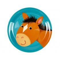 Spiegelburg melamine plate horse