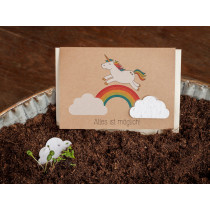 DieStadtgärtner Greeting Card UNICORN