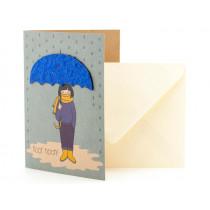 DieStadtgärtner Greeting Card KOPF HOCH