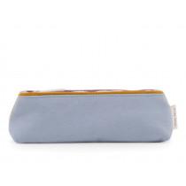 Sticky Lemon Pencil Case FRECKLES Sky Blue & Caramel