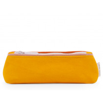 Sticky Lemon Pencil Case FRECKLES Sunny Yellow & Candy Pink