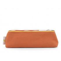 Sticky Lemon Pencil Case FRECKLES 70's Green & Faded Orange