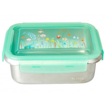 RICE Lunchbox stainless steel SUMMER FLOWERS