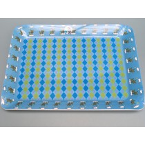 Supersoso Serving Tray BUNNY blue