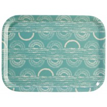 "Tray ""Motifs fond bleu"" by Mr. & Mrs. Clynk"