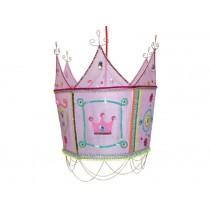Taj Wood lamp crown