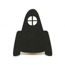 Ted & Tone wall hook ROCKET black
