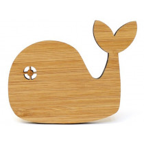 Ted & Tone Wall Hook WHALE natural
