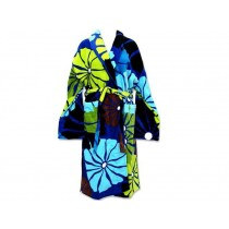 Tepper Jackson bathrobe UMBRELLA FLOWER