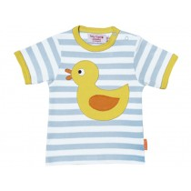 Toby Tiger short-sleeved T-Shirt with duck