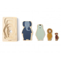 Trixie WOODEN PUZZLE 4-ply