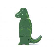 Trixie Wooden Puzzle Animal CROCODILE