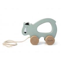 Trixie Pull-Along Toy POLAR BEAR