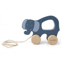 Trixie Pull-Along Toy ELEPHANT