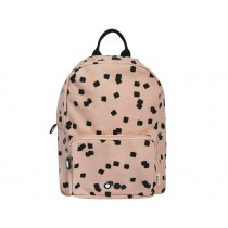 Trixie Backpack SQUARES apricot