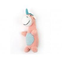 Weegoamigo crochet rattle UNICORN