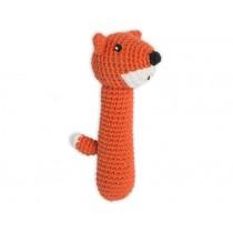 Weegoamigo crochet rattle FOX