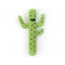 Weegoamigo crochet rattle CRAZY CACTUS