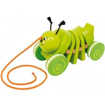 Pull-along caterpillar Robin