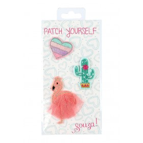 Souza Iron On Patches FLAMINGO