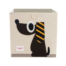 3 Sprouts storage box dog